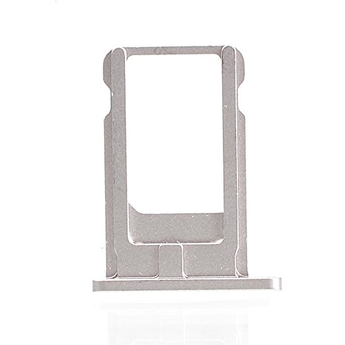 Smays SIM Card Tray Replacement for iPhone 6 4.7-inch (Silver) (Iphone 6 Tray compare prices)