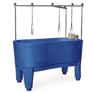 Polypro pet grooming tub blue pet grooming supplies pet supplies