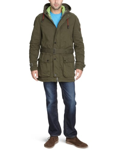 Strellson Sportswear Men's 14000499/Mirage-W Parka Grey (144) 50