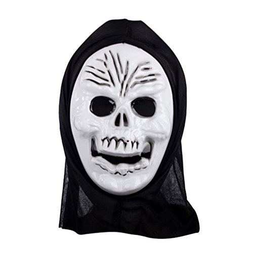 [Skull's Smile Mask Costume Mask Halloween Mask] (Smiley Horror Mask)