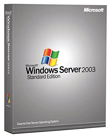 Microsoft Windows Server Standard 2003 64 Bit - 10 Client [Old Version]