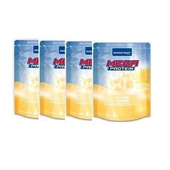 Energybody Mega Protein 80 4 x 500g Beutel 4er Pack Pistazie