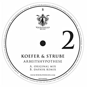 Koefer & Strube - Arbeitshypothese