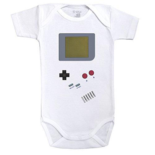 gameboy-body-cebe-manga-corta-algdon-blanco-baby-geek-3-6-meses