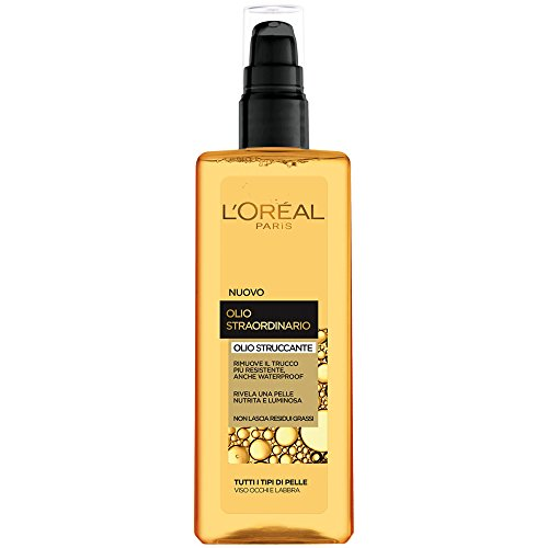 L'Oréal Paris Olio Straordinario Olio Struccante per Tutti i Tipi di Pelle, 150 ml