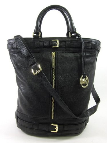 Michael Kors Kingsbury Large Tote Black Leather