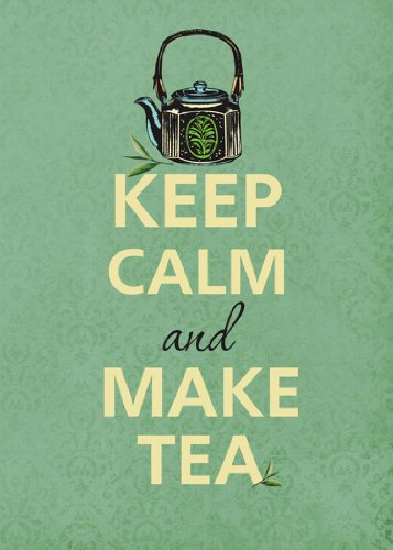 Rectangle Refrigerator Magnet - Keep Calm And Make Tea W/ Teapot