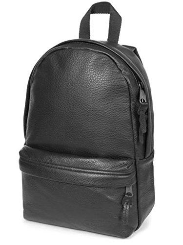 Zaino EASTPAK Gianni Nero Schwarz - (Black Leather) 45 cm