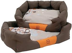 Petego Sparkling Dream Bolster Pet Bed, Medium