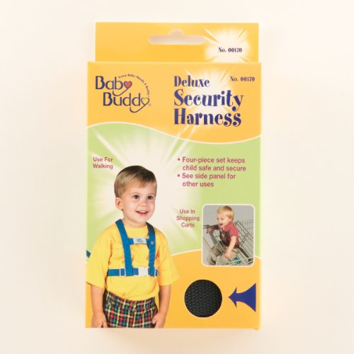 Baby Buddy Deluxe Security Harness Navy (Pack Of 6) front-564952
