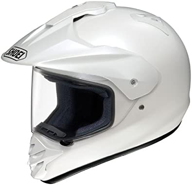 Shoei Hornet-DS Dual Sport Motorcycle Helmet Crystal White Extra Small XS