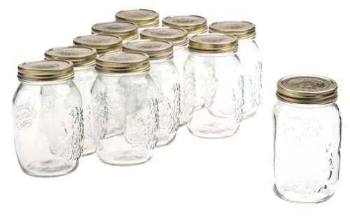 Bormioli Rocco Quattro Stagioni 33 3 4 Ounce Canning Jar Set of 12