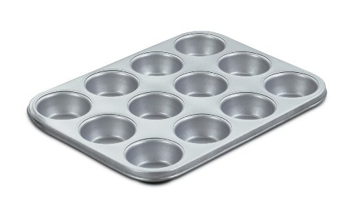 Cuisinart AMB-12MPC Chef's Classic Nonstick Bakeware 12-Cup Muffin Pan