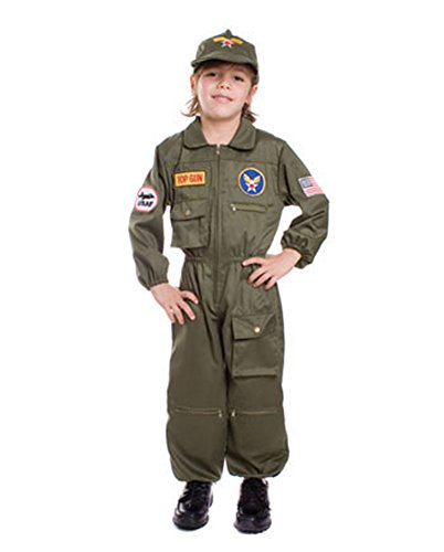 boys - Air Force Pilot Sm Halloween Costume - Child Small