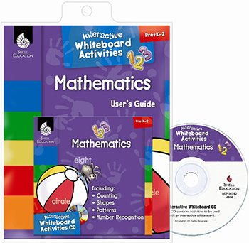 SHELL EDUCATION MATH PK-2 INTERACTIVE WHITEBOARD