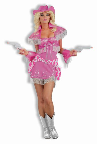 Adult Cowgirl Diva Costume Fancy Dress