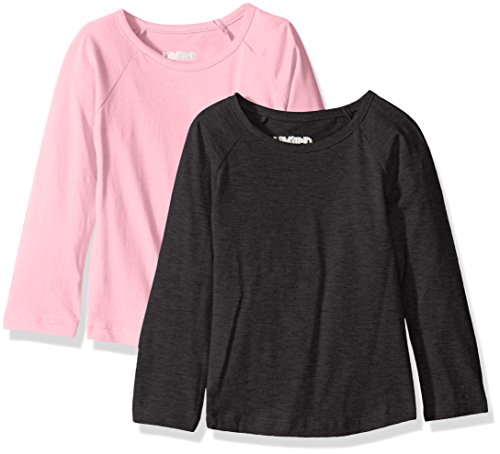 Limited Too Girls' 2 Pack: Long Sleeve Baseball T-Shirt