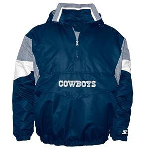 Dallas Cowboys Starter Breakaway Pullover Jacket by Starter