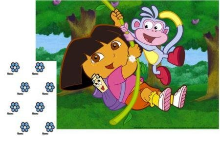 Dora Large Party Game