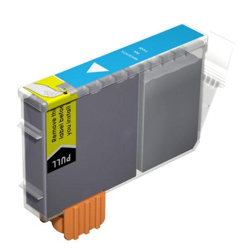 1x Kompatible Druckerpatrone - Ersatz für BCI-6C / BCI-3EC - Cyan- Hohe Kapazität - Canon BJC-3000 BJC-6000 BJC-6100 BJC-6200 BJC-6500 BJC-8200 BJI-6500 BJI-9100 I550 I550X i560 I560X I6500 I850 I860 i865 i905D i9100 i950 i965 i990 i9950 MPC400 MPC600F MP-F50 MP-F60 MP-F80 S400 S400X S450 S4500 S500 S520 S530d S600 S630 S6300 S750 S800 S820 S820d S830D S900 S9000 Imageclass MP700 Photo MP730 MPC100 MultiPass C150 Pixma iP3000 iP4000R MP750 MP760 Smartbase MP780