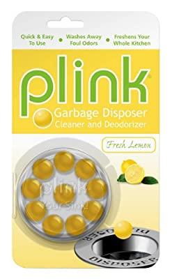 Plink Lemon Scent Garbage Disposer Cleaner and Deodorizer