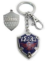 Trendyline Legend of Zelda Link Shield Keychain Keyring Cosplay Pendant Key Chain