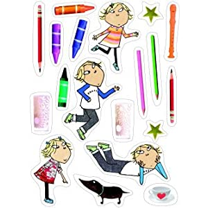 Charlie & Lola Snakes & Ladders Activity Scrap Book & Stickers