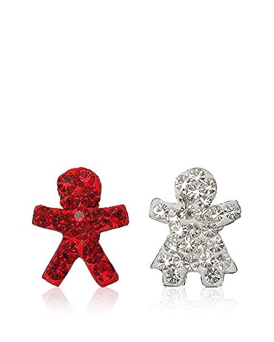 Fashion Victime Pendientes  Rojo