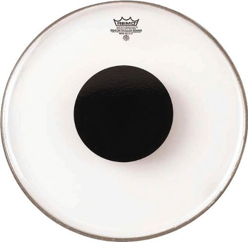 Remo Controlled Sound Clear Drum Head With Black Dot - 10 Inch