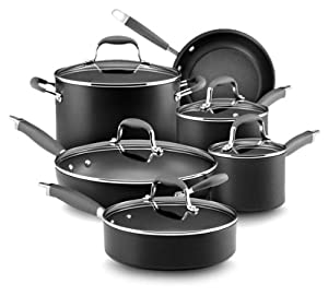 Anolon Advanced Hard Anodized Nonstick 11-Piece Cookware Set