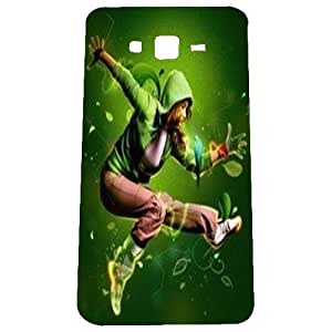 Mintzz Printed Back Cover For samsung Galaxy On7