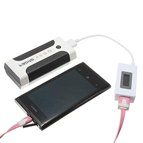 ELEGIANT LCD LED USB Testeur Voltage Courant Chargeur Voltmètre Ampèremètre Détecteur