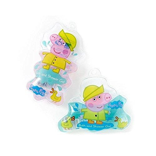 Bagno Di Maiale Di Peppa & Doccia Sacchetto Gel 60 Ml - Confezione da 2