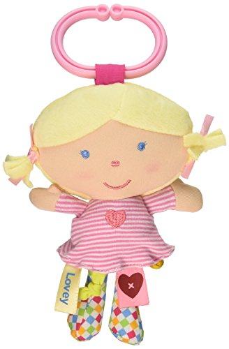 Kids Preferred Label Loveys On-The-Go Stroller Toys, Doll - 1