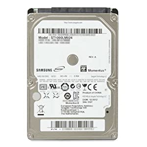 Samsung M8 HN-M101MBB Interne Festplatte 1TB (6,4 cm (2,5 Zoll), 5400rpm, 8MB Cache, SATA II) bulk