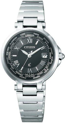 [シチズン]CITIZEN 腕時計 xC クロスシー HAPPY FLIGHT Eco-Drive エコ・ドライブ 電波時計 多局受信型 針表示式 ペアモデル EC1010-57F レディース