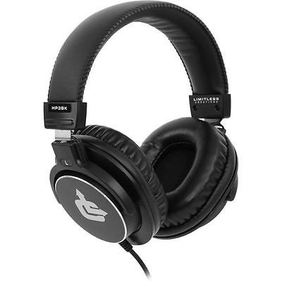 NEW New! Limitless Creations HP3BK Audiophile On-Ear Pro Studio Monitor Headphones (Audio Engine Studio Monitors compare prices)