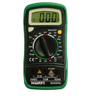 Mas830 Digital Multimeter , Black & Green