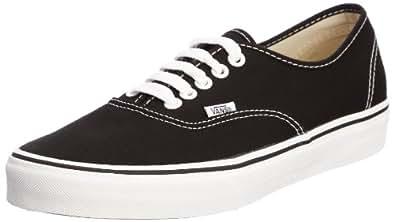 Vans Authentic, Unisex-Erwachsene Sneakers, Schwarz (Schwarz/Weiß), EU 34.5 (UK 2.5)