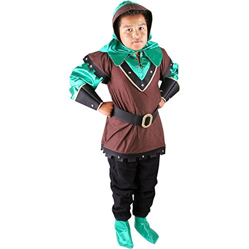 Child's Elite Robin Hood Halloween Costume (Size:Large10)