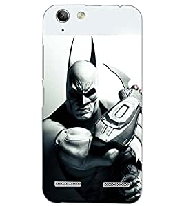 PrintDhaba BAT SHADOW D-6594 Back Case Cover for LENOVO VIBE K5 PLUS (Multi-Coloured)