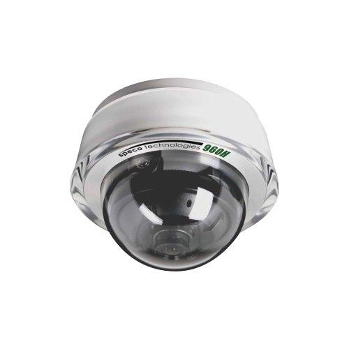 Speco Cdd11Hw Diamond Series Indoorr Dome Cam 3.6Mm Lens Osd 700Tvl White Housing