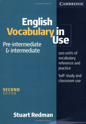 English Vocabulary In Use. Pre-Intermediate Level
