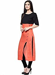 Shreebalaji Enterprise Women's Cotton Dress Material (ORANGESLASH_HOLLy_SBBB01_Orange)