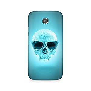 Mobicture Skull Abstract Premium Designer Mobile Back Case Cover For Moto X