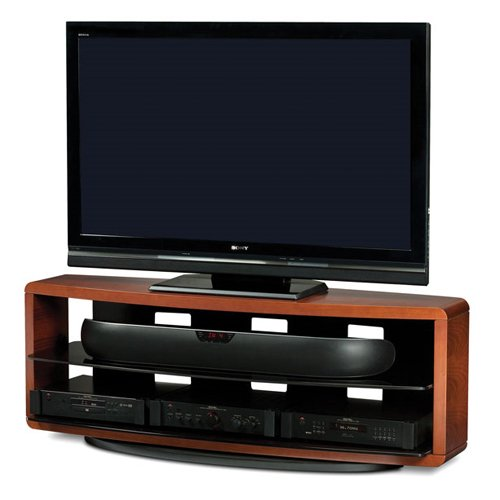 Cheap BDI Valera 9729 Triple Wide Open TV Stand (Natural Stained Cherry) (Valera/9729CH)