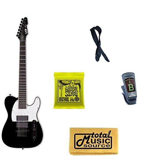 Esp Ltd Sct-607B Stephen Carpenter Baritone Guitar, Strings, Strap, Tuner,Cloth