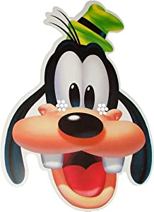 Amazon.com: Disney's - Goofy - Card Face Mask: Toys & Games