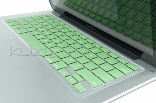 =>  Kuzy - Mint GREEN Keyboard Cover Silicone Skin for MacBook Pro 13