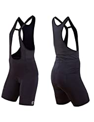 2015 Pearl Izumi Womens Elite Drop Tail Bib Shorts Black X-Small